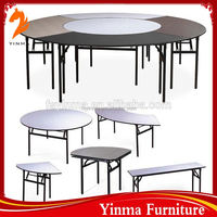 YINMA wholesale used round banquet tables for sale