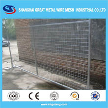 Anping china temporary fence on the road temporary wood fencing hot dipped galvanized wire