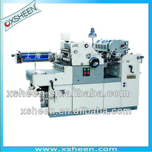 2 Double colors offset press machine with number printing ,2 color offset printer, offset printing machine XH56DNP