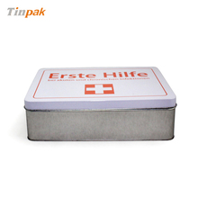 metal first aid box