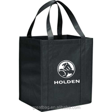 Wholesale reusable cheap design shopping supermarket tote bag