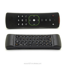 High Quality 2.4G IR TV remote control/fly air mouse keyboard/bluetooth air flying mouse