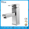2014 New Brass Single Handle Basin Mixer
