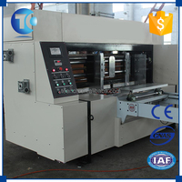 Customized size automatic paper used rotary die cutting machine