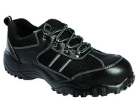 Leather Safety Work Boots with CE Anti-hitting Safety Shoes