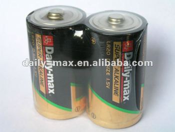LR20 Super Alkaline Battery