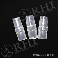 DJ 221 plastic cable sleeve/ bullet terminal soft sleeve /electric cable sleeve