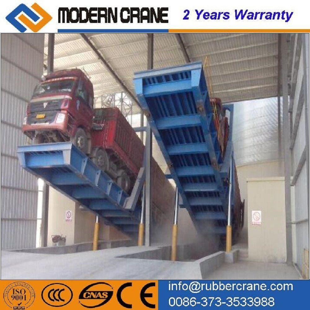 Hydraulic loading ramps/container unloading ramp professinal manufactor