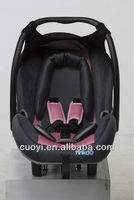 Integrated sunshade baby car seat/child car seat,baby carrier with ECE R44/04 certification