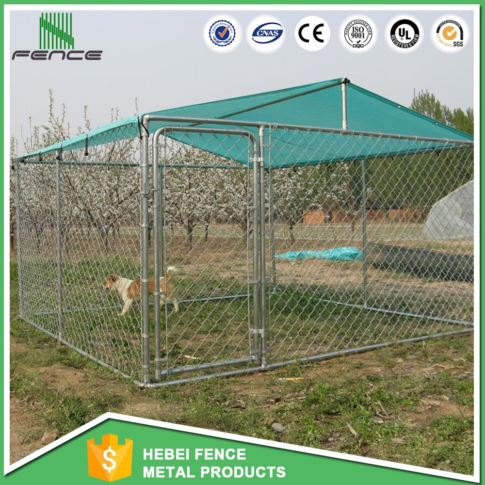 galvanizing steel dog kennel factory direct