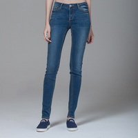 2013 New Style Fashion Women Cheap women skinny jeans with bow