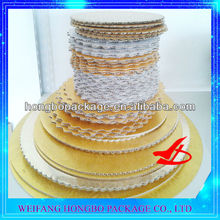 scalloped cake circles& cake base