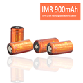 In Stock Rechargeable Battery 18350 3.7V 800mAh Li ion Battery IMR 18350 Battery