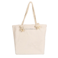 Woman Promotion Canvas Cotton Beach Rope