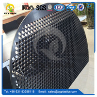 HDPE paper machine suction box/ plastic box cover/ Polyethylene engineering machined parts