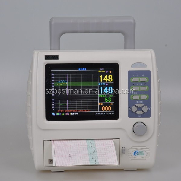 Bestman fetal monitor for twins fetal detect heart CTG machine BFM-700+ CE mark