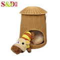 mushroom plastic outdoor dog and cat house pet house for small animals