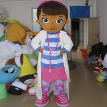 adult doc mcstuffins mascot costume for sale