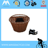 OEM China Manufacturer Wicker Bike Basket