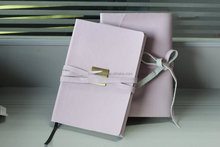 A5 pu leather notebook cover with elastic band,custom notebook,personalized notebook