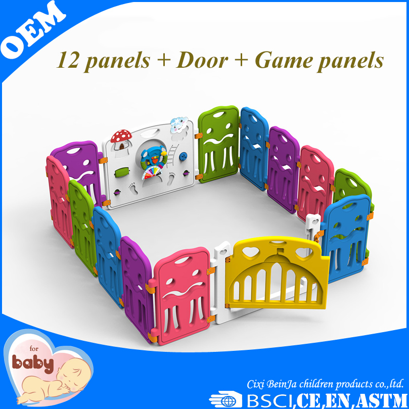Baby non-toxicity playpen fence playard children safety product yard.