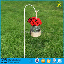 Customized design outdoor 48'' shepherds hook, movable hanging plant stands
