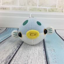 Custom marine animals plush cute stuffed fish toy
