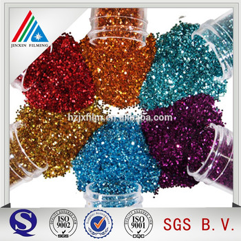 Colored Metallic PET Glitter Film
