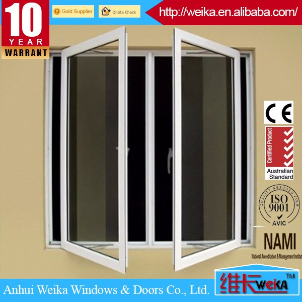 aluminum frame casement window any color