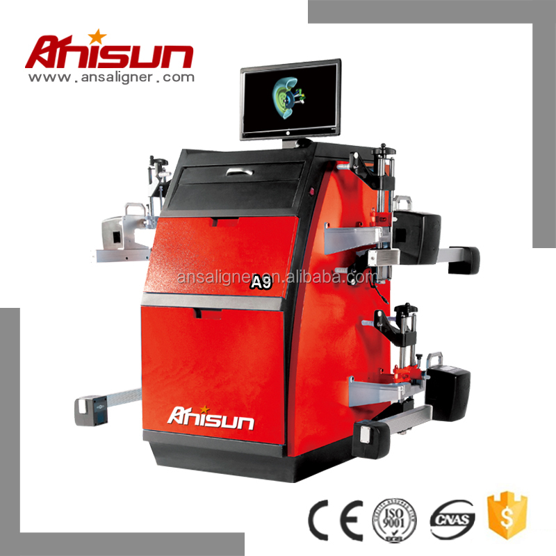 used wheel alignment machine with zigbee ,wheel aligner used