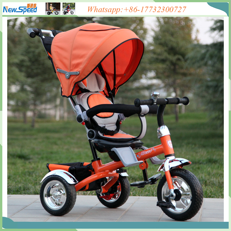 China 3 wheel baby tricycle/360 degree rotation children tricycle/kid tricycle
