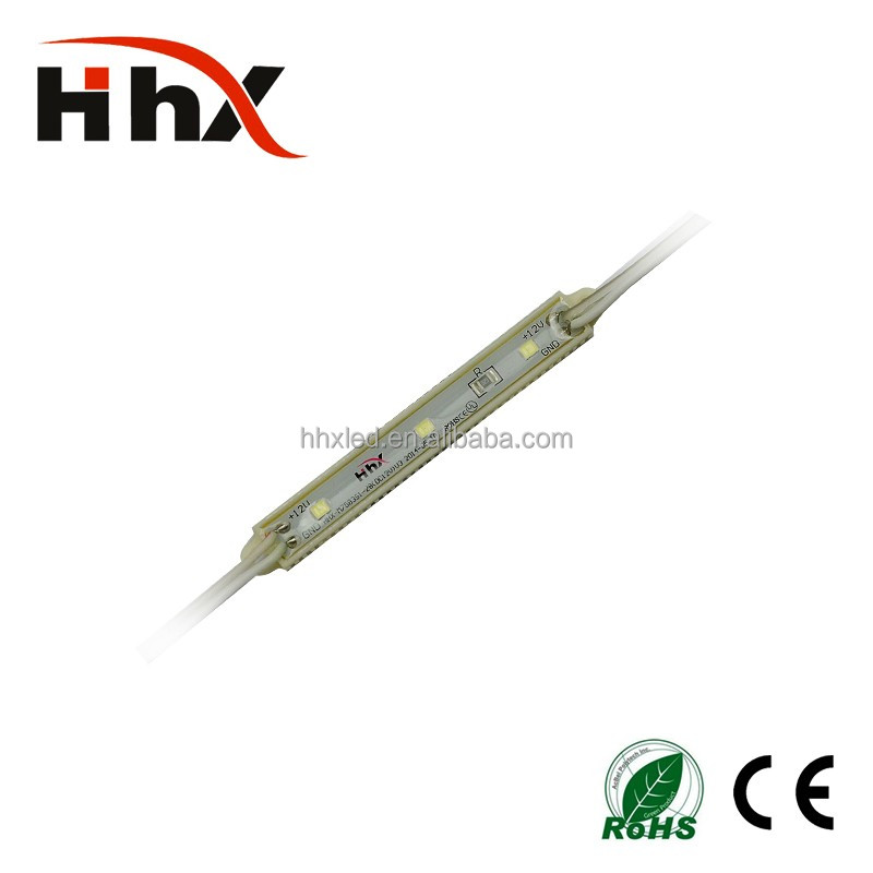 hhx high brightness smd2835 led epoxy module 3 chips outdoor