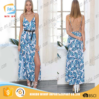 Wholesale New Elegant Ladies Smart Casual Dress Women Maxi Dress