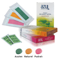 Azul Depilatory Facial Cold Wax Strips