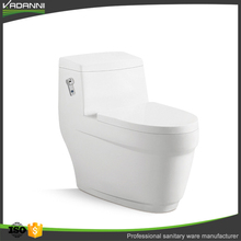 New display ceramic one piece toilet for small bathrooms sanitary ware