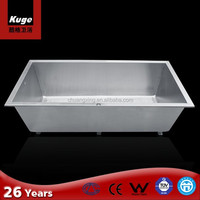 2016 Factory Price Stainless Steel 304 UPC Bathtub