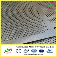 stainless steel honeycomb perforated metal plate