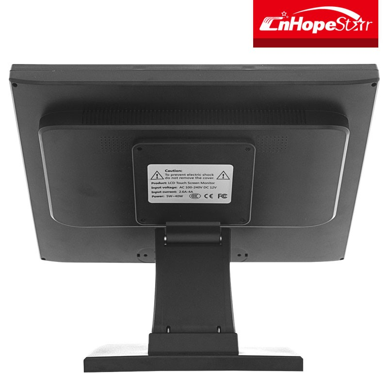 High quality 12 15 17 inch pos system touch screen monitor