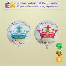 Inflatable balloon newreborn baby crown round balloon distributors