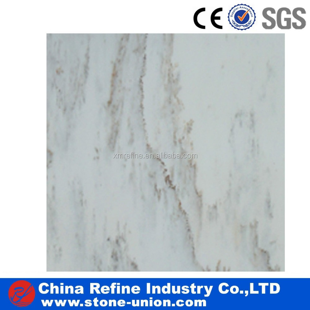 white agglomerated marble