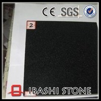 Mongolia black granite tile for sale