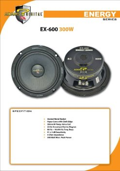 ADAMS DIGITAL 6.5 car speaker