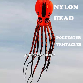 Large Inflatable Self fly Octopus kite