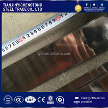 Stainless Flat Steel Bar HL Mirror finished flat bar 304