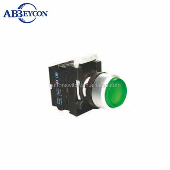BB125 12mm signal lamp extended momentary push button maintained illuminated extended botton