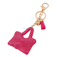 fashion leather keyring wholesale K0032