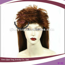 bulk hair for wig making noble funny synthetic hair wig