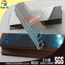 Anti-UV protective film for aluminium profiles