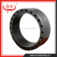 Apply to KOMATSU PC200-6 Excavator Chinese Products Gear Ring for Swing Machinery , Excavator Gear Parts , Internal Ring Gear