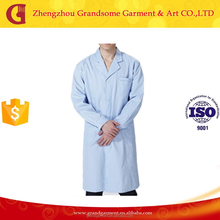 Wholesale Anti-bacterial Design Medical White Lab Coat